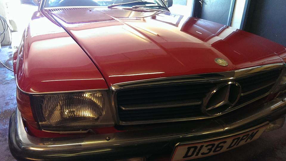 Classic Mercedes 420SL restortion